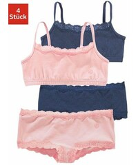 RED LABEL Bodywear Bustiers + Pantys (Set 4-tlg.) S.OLIVER RED LABEL Farb-Set 146/152,158/164,170/176,182
