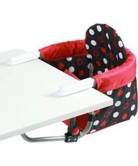 CHIC4BABY CHIC4BABY Tischsitz mit universellem Befestigungssystem Relax dots schwarz