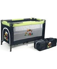 CHIC4BABY CHIC4BABY Reisebett mit Transporttasche Luxus bumblebee grün