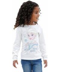 Disney Disney Langarmshirt Die Eiskönigin- völlig unverfroren für Mädchen weiß 104/110,116/122,128/134,140/146,92/98
