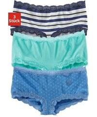 S.OLIVER RED LABEL RED LABEL Bodywear Panties (3 Stück) mit Spitze blau 146/152,158/164,170/176,182
