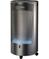 ROWI Gas-Heizgerät »Blue Flame«, silberfarben, 4200 Watt, PURE Premium+