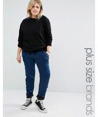 Alice & You - Pantalon de survêtement coupe décontractée - Bleu marine