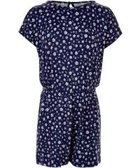 New Look Combi-short fille bleue à imprimé petite fleurs et épaules dénudées