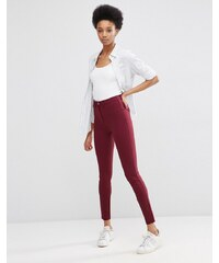 ASOS Tall - Pantalon skinny stretch coupe ultime - Rouge