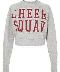 New Look Sweat court gris 'cheer Squad'