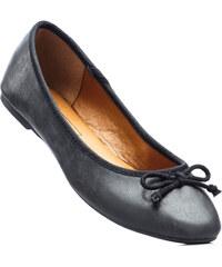 bpc bonprix collection Ballerines en 2 largeurs, chaussant normal noir chaussures & accessoires - bonprix
