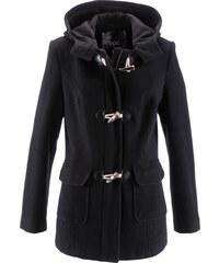 bpc bonprix collection Woll-Dufflecoat langarm in schwarz für Damen von bonprix