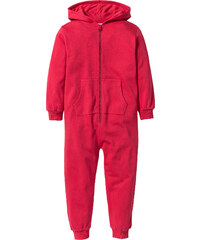 bpc bonprix collection Kapuzensweat-Overall langarm in rot von bonprix