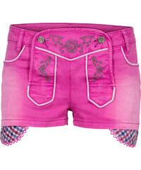 RAINBOW Trachten-Shorts in pink für Damen von bonprix