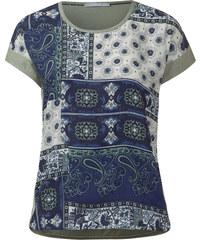 Cecil - Tee-shirt imprimé à motifs - pastel reed vert