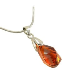 Bijoux Me Přívěsek Swarovski Elements Polygon Drop 339akt6015-17-11 - oranžový