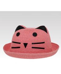 Wayfarer dámský klobouk Cat růžový