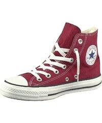 Große Größen: Converse Chuck Taylor All Star Core Hi Sneaker, Bordeaux-rot, Gr.36-45