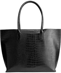 H&M Shopper s krokodýlím vzorem
