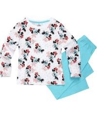 Disney Minnie Pyjama türkis in Größe 104 für Mädchen aus 100% Baumwolle