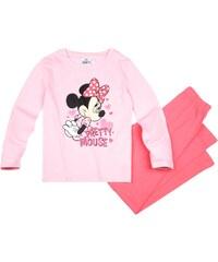 Disney Minnie Pyjama pink in Größe 104 für Mädchen aus 100% Baumwolle