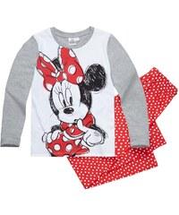 Disney Minnie Pyjama rot in Größe 104 für Mädchen aus 100% Baumwolle Grau: 60% Baumwolle 40% Polyester