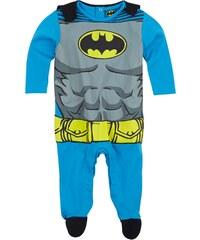 Batman Jumpsuit blau in Größe 62 für Jungen aus 100% Baumwolle