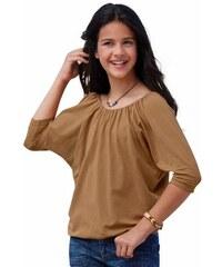 CFL 3/4-Arm-Shirt braun 128/134,140/146,152/158,164/170,176/182