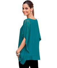 Damen Bluse mit Top TOGETHER grün 36,38,40,42,44,46,48