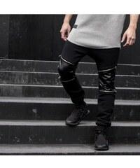 Majors Zip Pants Black