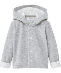 MANGO BABY Meliertes Baumwoll-Sweatshirt