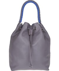 Lili Radu Sacs à Bandoulière, Bucket Bag Rose Taupe/Striking Blue en gris
