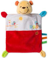 C&A Baby Winnie the Pooh Baby-Kuscheltuch in Rot