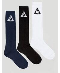 Le Coq Sportif - Lot de 3 paires de chaussettes avec logo - Multi