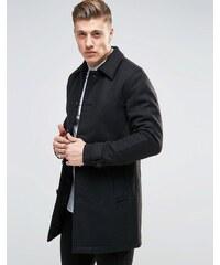 Produkt - Pardessus en laine - Noir