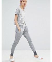 Wildfox - Pantalon de jogging color block - Gris