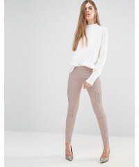 7 For All Mankind - Pantalon cargo skinny - Beige