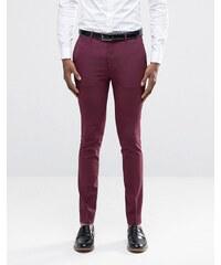 ASOS - Pantalon de costume super skinny - Baie - Violet