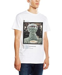 Sesame Street Herren T-Shirt Grouchy Instagram