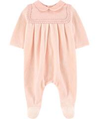 Chloé Samt-Pyjama mit Bubikragen