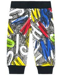 Moschino Hose mit Print aus Molton