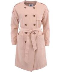 Béžový kabát Vero Moda Donate