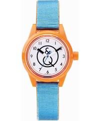 Q&Q Smile Solar blau orange Armbanduhr RP01J005Y