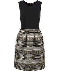 BODYFLIRT Glitzer Kleid in schwarz von bonprix