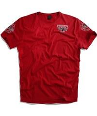 UNCS Pánské triko Cruz RED S