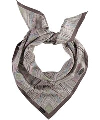 FRAAS Seidentuch mit ornamentalem Muster in taupe