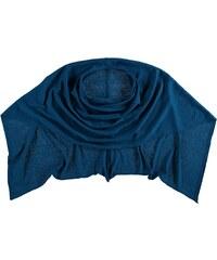 FRAAS Poncho in Polyester-Mix mit puristischem Design in blau