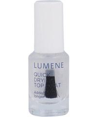 Lumene Gloss & Care Quick Drying Top Coat 5ml Lak na nehty W Pro rychlejší schnutí laku