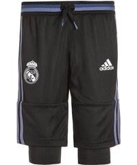 adidas Performance REAL MADRID 3/4 Sporthose black/super purple