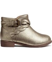 H&M Třpytivé kotníkové boty