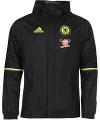 Sportovní bunda adidas Chelsea Football Club AW pán. černá/žlutá