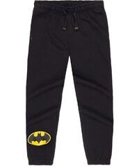 Batman Jogginghose schwarz in Größe 104 für Jungen aus 80% Baumwolle 20% Polyester