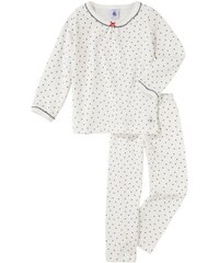 Petit Bateau - Mädchen-Schlafanzug für Mädchen