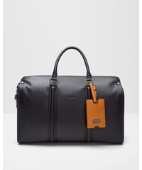 Ted Baker Reisetasche aus Leder Marineblau